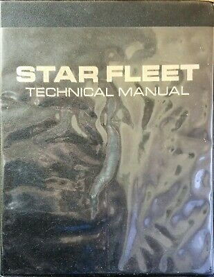 STAR FLEET TECHNICAL MANUAL by Franz Joseph | First Edition 1975