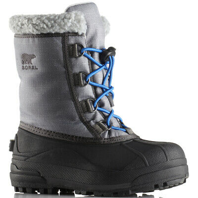 Unisex Kids Sorel Youth Cumberland Winter Snow Warm Fur Lined Ankle Boot UK 13-6