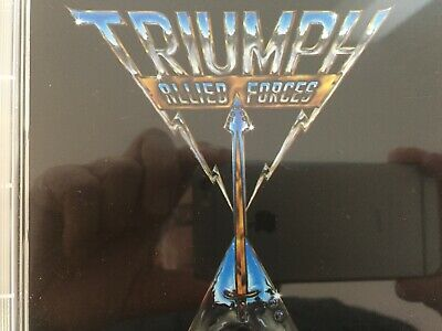 TRIUMPH - Allied Forces CD TRC AS NEW!