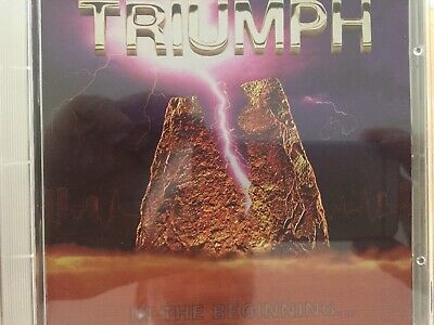 TRIUMPH - In The Beginning CD 1976 TRC Records AS NEW!