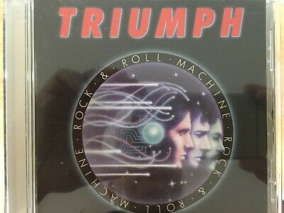 TRIUMPH - Rock & Roll Machine CD 1995 TRC Records AS NEW!