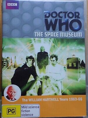 DOCTOR WHO - The Space Museum DVD BBC AS NEW! William Hartnell