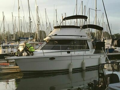 31ft Motor Cruiser Prowler Live aboard boat yacht 6 berth with new outdrives