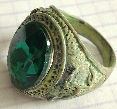 Ancient Roman Ring Metal Color Silver Artifact Amazing Extremely Stunning