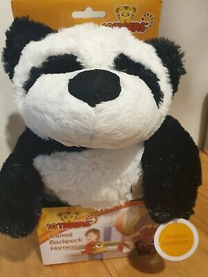 10 Tigers Animal Backpack Safety Harness - Panda. Adjustable. New in Box