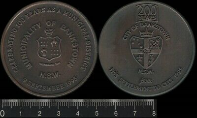 Australia 1995 City of Bankstown NSW, 200th Anniversary of Settlement, Medal