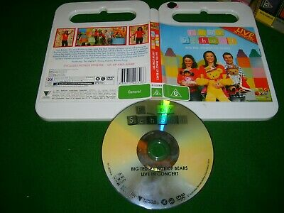 PLAY SCHOOL BIG TED, PRINCE OF BEARS LIVE - 2011 ABC For Kids - DVD Pal Region 4
