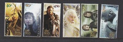 New Zealand 2003 Lord Of The Rings Mnh Set Of Stamps