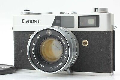 【NEAR MINT+ Meter Work】 Canon Canonet QL17 40mm f/1.7 Rangefinder Japan #314