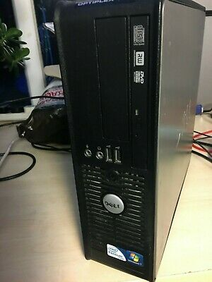 Dell Optiplex 780 SFF PC, 2.80GHz Dual Core, 4GB RAM, 250GB HDD, Windows 10 Pro