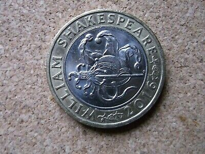 2016 CHEAPEST £2 COINS TWO POUND RARE  Shakespeare Comedy