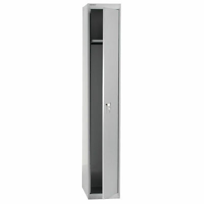 NEW! Bisley 1 Door Locker D457mm Goose Grey BY09215