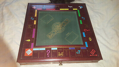 The Franklin Mint 1991 Collector's Edition Monopoly Board Game