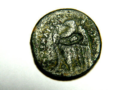 Rare, Greek, Ptolemaic Kingdom, Ptolemy I. Countermarked by Ptolemy III-V