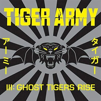 FREE US SHIP. on ANY 3+ CDs! NEW CD Tiger Army: Tiger Army III: Ghost Tigers Ris