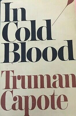 IN COLD BLOOD-Truman Capote (1st Edition) BCE 1965 HC DJ / Random House
