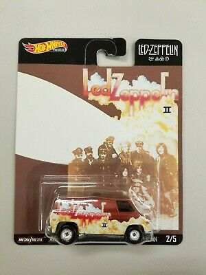 Hot Wheels 2020 Pop Culture Led Zeppelin Super Van #2/5 ships/box/bubble wrap
