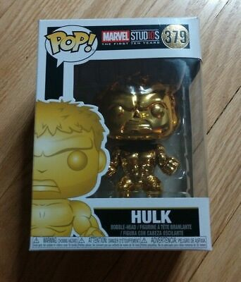 (P2) - Funko Pop - Hulk - Marvel Studios - 379 - Brand New -