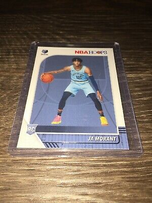 2019/20 NBA Hoops Ja Morant Rookie Card #259 HOT! Grizzlies