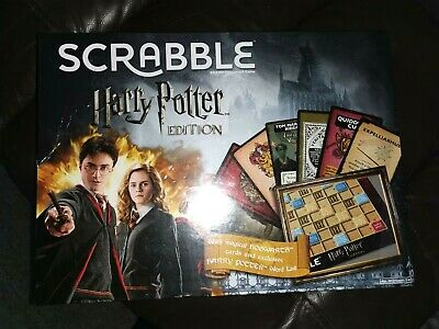 Brand New & Sealed Mattel Scrabble Harry Potter Edition Age 10+ 2-4 Players