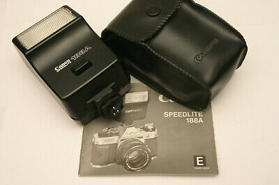 Canon Speedlite 188A. Canon AE1 and AE1 program fit
