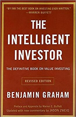 Intelligent Investor: The Definitive Book on Value Investi... Paperback Book NEW