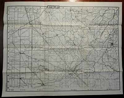 Vallecito Sonora Oakdale California 1945-50 U.S. Geological Survey detailed map