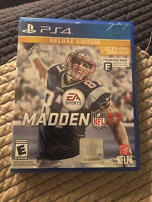 EA Sports Madden NFL 17 Deluxe (PS4)