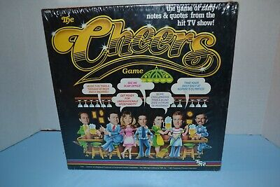 """The """"Cheers""""  Game By Tsr  Year 1987 - Sealed"""