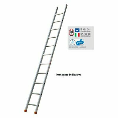 Facal Gr. 8 Genia Ladder Industrial Length Support 265 cm Capacity 150 kg 8 Step