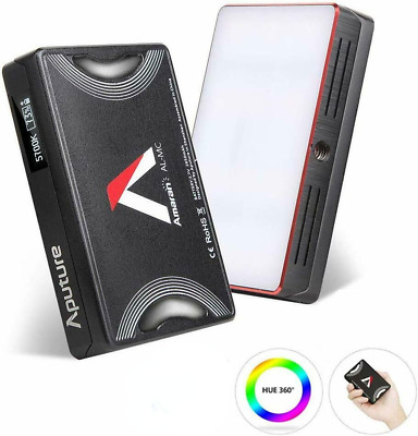 US Shipping Aputure AL-MC RGB Led Video Light CRI96+ 0-360 Full Color 3200-6500K