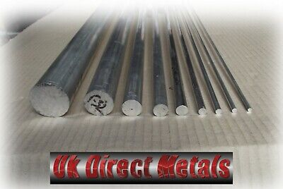 Aluminium Metric Round bar 15MM - 40MM - Grade 6082 Free Delivery & Cutting