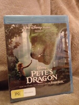 Pete's Dragon (2016) BLU-RAY -REGION FREE NEW AND SEALED  CHEAPEST ON EBAY