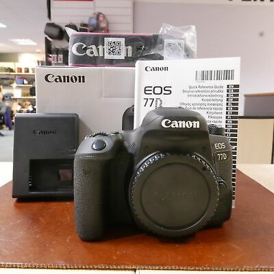 Used Canon EOS 77D DSLR body (15 Actuations) - 1 YEAR GTEE