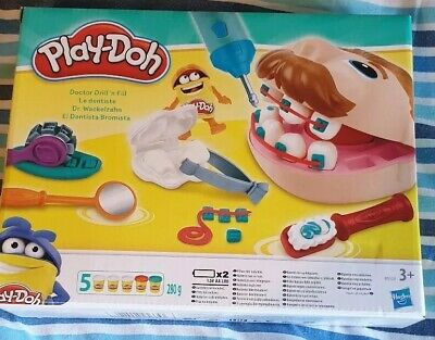 Kids Play-Doh Dentist Set Doctor Drill N Fill Role Play Playset Toys Easter