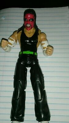 Jeff Hardy Action Figure. Red Face Collectable. Used But Good Condition