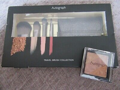 Autograph travel make up brush collection with pouch-I combine postage