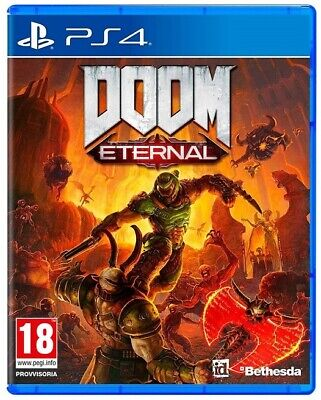 Doom Eternal Ps4 Gioco Playstation 4 Videogioco Italiano Nuovo Sigillato Day One