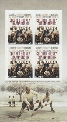2020 = Coloured Hockey Championship = Black History  Front Booklet Page 4 Canada