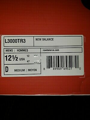New Balance Low-Cut L3000v3 Metal Baseball Cleat Mens Shoes Red/white