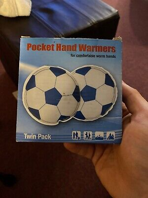 Footballs Microwaveable Hand warmers, reusable pocket warmers