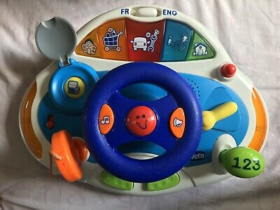 Chicco Talking Driver Bilingual Childrens Toy