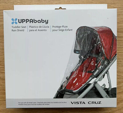 NIB UPPAbaby Toddler Seat Rain Shield Vista Cruz