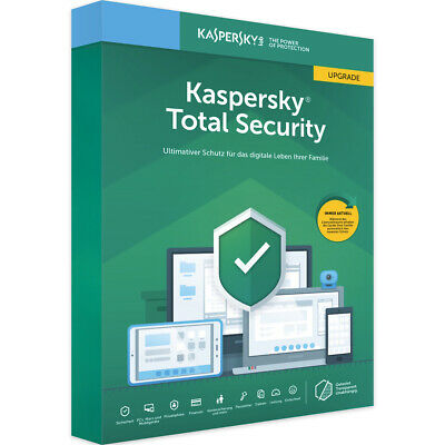 Kaspersky Total Security 2020 |1 Gerät 1 Jahr| inkl. Internet Security+Antivirus