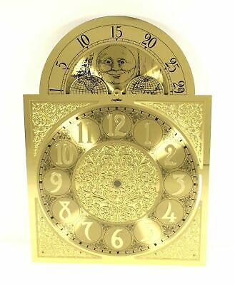 TRIPLE CHIME DIAL - GRANDFATHER CLOCK - MADE GERMANY - NOS w/ Moon Dial - GG487