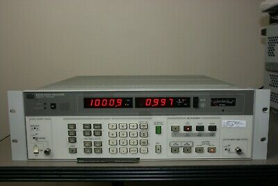 HP 8903B Audio Analyzer 30 Day Warranty has a recent calibration