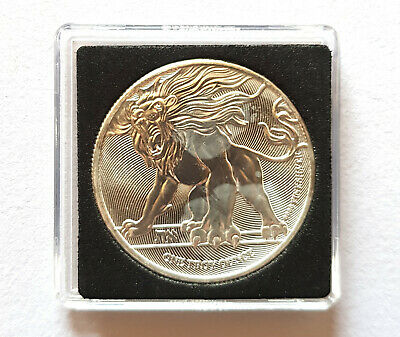 2019 Niue Two Dollars 1oz .9999 Fine Silver Coin Lion of Judea Capsule Included