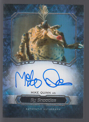 Star Wars 2016 Topps Masterwork Autograph Auto #MIQU Mike Quinn as Sy Snootles