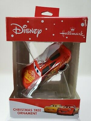 Hallmark 2019 Lightning McQueen Disney Pixar Cars Christmas Ornament New Red Box