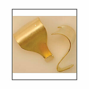 Brassed Picture Hooks. Pack of 100.